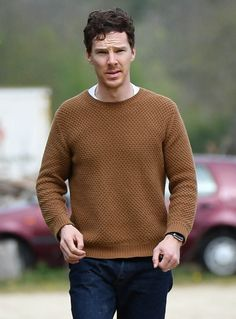 Aw, he is wearing John's clothes.