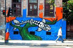 graff_big_nicolau-94-900-460-70 Street Tattoo, Graffiti, Big, Pitch, Graffiti Artwork, Street Art Graffiti