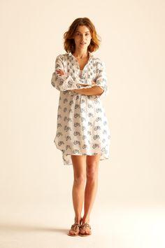 Annette print dress