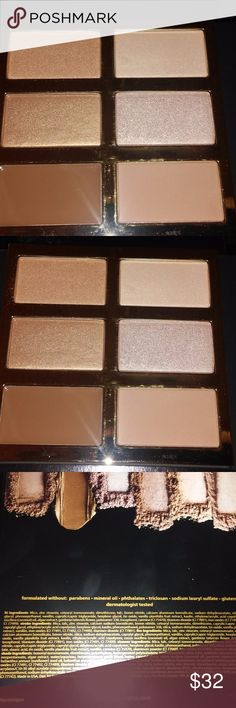 Brand new, Tarte Pro Glow Highlight/Contour/Bronzi Brand new, never swatched nor used, Tarte Cosmetics Pro Glow blush/highlighter/contour palette. Perfect for any season and travel!! Comes with receipt upon request. Guaranteed authentic! Purchased at Tarte.   Please contact me with questions. No trades! No returns! I do bundle items as well. Happy Shopping!  #tarte #proglow #contour #makeup #palettes #bronzer #highlighter #blush #eyeshadow #nakedheat #urbandecay #authentic #toofaced tarte…