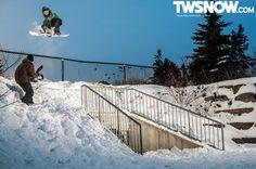 Frank April. PHOTO: Ralph Damman    Wallpaper Wednesday: You hear that buzz?   TransWorld SNOWboarding