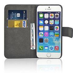 TecHERE ProWallet - Echtleder-Schutzhülle mit Geldbörsenfunktion für Apple iPhone 6 - Hochqualitative und stylische Hülle mit Geldkartenfächern und Geldfach - 100% Geld-Zurück-Garantie - Schwarz TecHERE http://www.amazon.de/dp/B00OOJB96M/ref=cm_sw_r_pi_dp_waxtub181DNSD