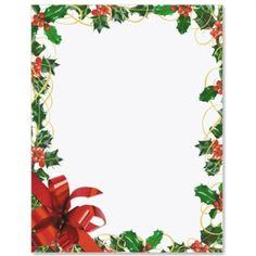 Christmas Floral Letter Paper | Idea Art | Julramar - Christmas ...