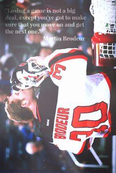 Martin Brodeur - Hockey Goalie