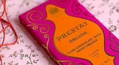 pink chocolate packaging