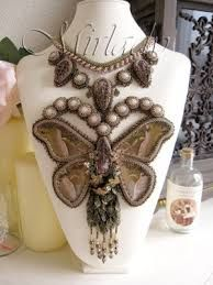 butterfly bead embroidery - Cerca con Google