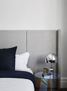 This recent residential project by award-winning Melbourne practice Mim Design features a stunning internal transformation of an histor. Mim Design, Design Studio, Ikea, Design Your Home, House Design, Master Suite, Discount Bedroom Furniture, Bed Linen Design, Simple Bed