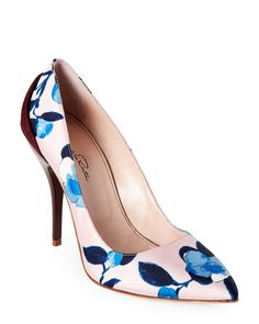 "Check out ""Multicolor Furnet Floral Pointed Toe High Heel Pumps"" from Century 21"