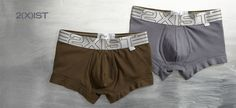 When was the last time you re-stocked your underwear drawer? It's time to graduate to the high-quality undergarments in this collection from 2(X)ist. Featuring fashion-forward styles in contoured shapes and ultra-soft cotton blends, these boxers, briefs and trunks offer superior comfort and fit. Plus you'll find a range of great-looking styles in colors from basic to bold, as well as tanks, tees and socks.