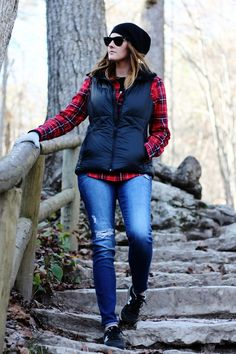 Fall Style | Camping at Red River Gorge