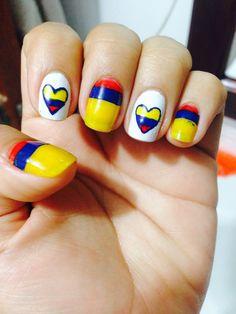 Colombia Nail Art Nails Pinterest Nail Art Art And Nails