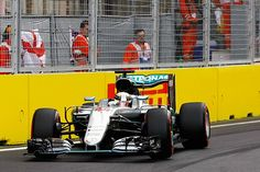 Hamilton gets replacement tyre for start of European GP