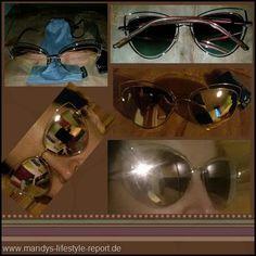 Sonnenbrille von SojoS mit modischen Doppelrahmen - Kreiere Dein Leben-Mandys Lifestyle Report