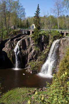 Stalpets waterfall, Aneby