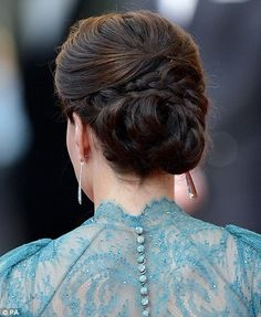 Thank you, Kate Middleton, for my wedding hair inspiration.