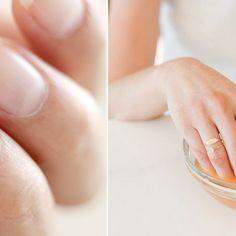 Jak zapuścić zdrowe i długie paznokcie w 10 dni? Tania megamikstura Manicure, Hair Beauty, Make Up, Wedding Rings, Healthy, Diy, Nail Bar, Nails, Bricolage