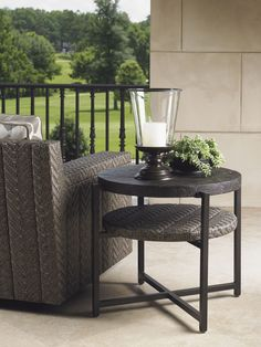 Blue Olive Tommy Bahama Outdoor End Table | Lexington Home Brands Furniture