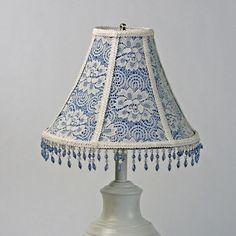 shabby chic lamp shades | ... Lamp Shade, Victorian Lampshade, Vintage Lampshade, Shabby Chic Lamp