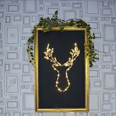 s 16 unexpected ways to use christmas lights this summer, Create an illuminated deer decor Hanging Christmas Lights, Led Christmas Tree, Decorating With Christmas Lights, Outdoor Christmas, Decorating Your Home, Christmas Crafts, Christmas Decorations, Christmas Ornaments, Xmas