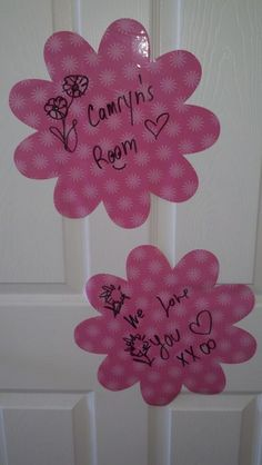 WallPops Dry-Erase wall art makes a room special!