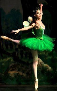 Green Fairy Ballerina