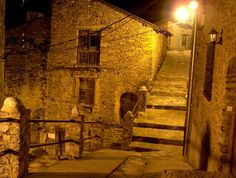 Rialp de nit (Pallars Sobirà, Catalunya - Catalonia)
