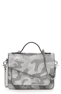 Loving this shimmery camo crossbody bag Leather Crossbody Bag eb684b1bc0ca0