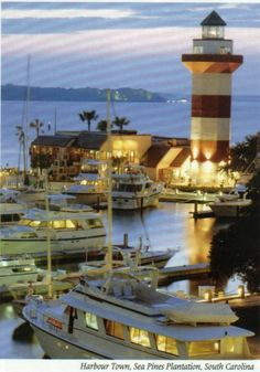 Harbour Town at twilight... Hilton Head Island dreaming... http://HiltonHeadRealtySales.com