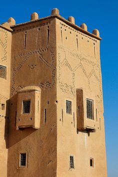 Morocco, Warzazat, Kazba Taourirt