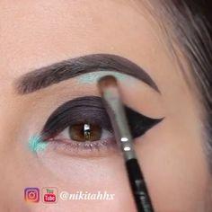 Beautiful Eye Makeup <3  By: Nikitahhx #fun #teenchoice #girllife #girlboss #fashionlook #funny #fashion #fashiongirls #funnypics #girlworld #funnyaf #teen #teens #teenagers #fashionista