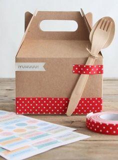 Hazlo tú mismo: un alegre toque de washi tape para tus días de picnic este verano