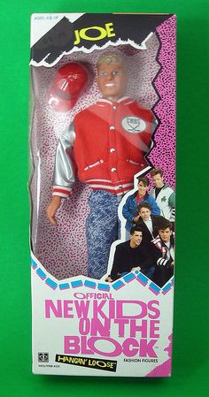 Totally had this New Kids on the Block barbie doll.