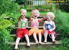 Father's Day 2014 Cute Kids, Baby Boy, Girl Pictures
