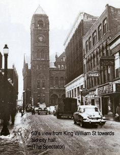 Old Pics Of Hamilton - SkyscraperPage Forum Old Pictures, Old Photos, Hamilton Ontario Canada, Remembering Mom, Williams Street, The Spectator, The Province, Back In Time, Old City
