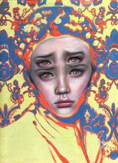 Paintings by Alex Garant: Alex Garant is a Canadian pop surreal artist who is quite popular among the artworld. Collages, Collage Art, Alex Garant, Illusion Paintings, Art Alevel, A Level Art, Wow Art, Portrait Art, Portraits