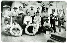 Tripulació del bergantí goleta Rosendo, 1918. MMB 26471F (col. JB Buades)