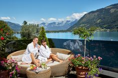 Vacation at one of the most beautiful places in Austria. The superior GRAND HOTEL ZELL AM SEE is located on a private peninsula directly on Lake Zell. Zell Am See, Most Beautiful, Beautiful Places, Wellness Spa, Grand Hotel, Outdoor Furniture, Outdoor Decor, Vacation, Home Decor