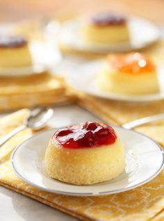 Lemon Pudding Cake -- Zoe Francois---        Lemon Pudding-Cake from The Craft of Baking with Homemade Jam---  lemonsoufcake03