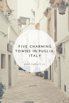 charming towns in Puglia, Italy The prettiest towns in Puglia, Italy. MoreThe prettiest towns in Puglia, Italy. Places In Italy, Oh The Places You'll Go, Places To Travel, Places To Visit, Travel Destinations, Italy Vacation, Italy Travel, Italy Honeymoon, Italy Trip