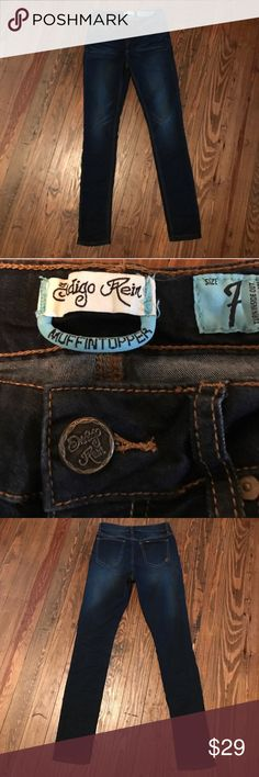 NWOT DARK WASH JEANS These are NWOT. Have been washed and air dried only. No flaws. Please ask any questions before purchase. I video and photo all sales to protect us both. I accept reasonable offers. ❤️😊 Indigo Rein Jeans