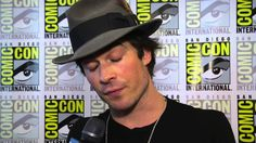 Ian Somerhalder on infusing personal life into 'Vampire Diaries' relatio...