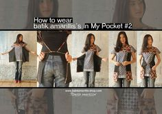tie-on pockets | ... tie on the front & tie on the back,the tie allows you to adjust any