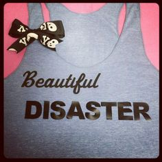 Jamie McGuire Novel Beautiful Disaster Inspired by RufflesWithLove, $24.00