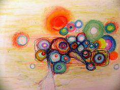 Marina Retamar: pastel al oleo sobre papel