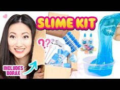 DIY CRYSTAL SLIME KIT!!! Make INSTANT Clear Slime That Looks Store-Bought! - YouTube
