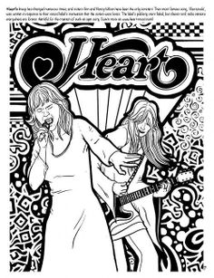 coloring pages of rock bands - photo#23