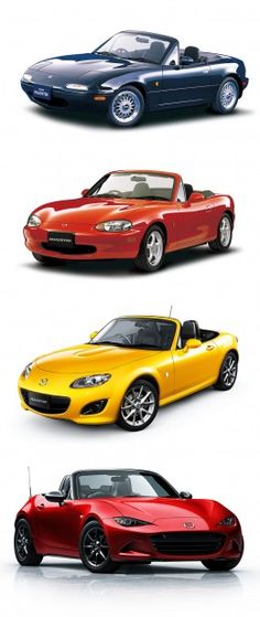 Mazda MX 5 Design Evolution