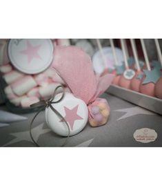 Μπομπονιέρα βάπτισης γιογιό Twinkle Star, Twinkle Twinkle, Christening, Pearl Earrings, Candy, Pearls, All Star, Jewelry, Design