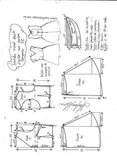 Motifs de coupe tunique et robe de fil Coccinelle Taille 32-58 Nº 09
