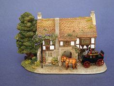 Lilliput Lane Cottage George Inn The   eBay